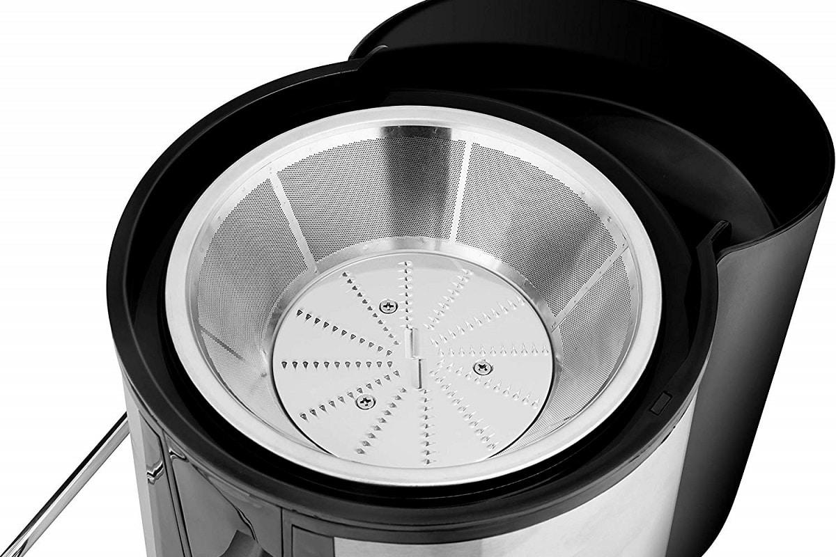 Filtro de acero inoxidables de una licuadora por centrifugado de Ufesa